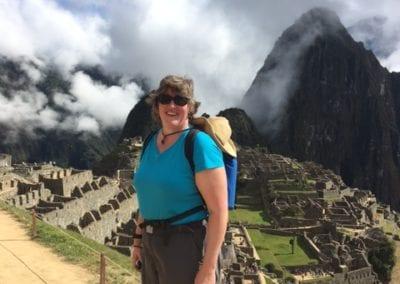 Sara at Machu Picchu