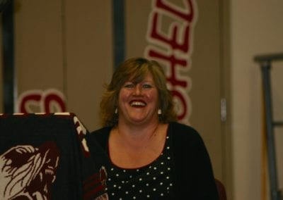 Sara at Juneau-Douglas High School celebration